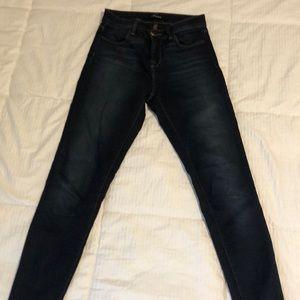 J Brand Maria size 23 skinny dark blue jeans